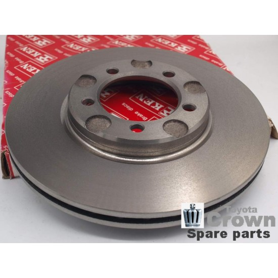 Disc brakes, set of 2, front MS132