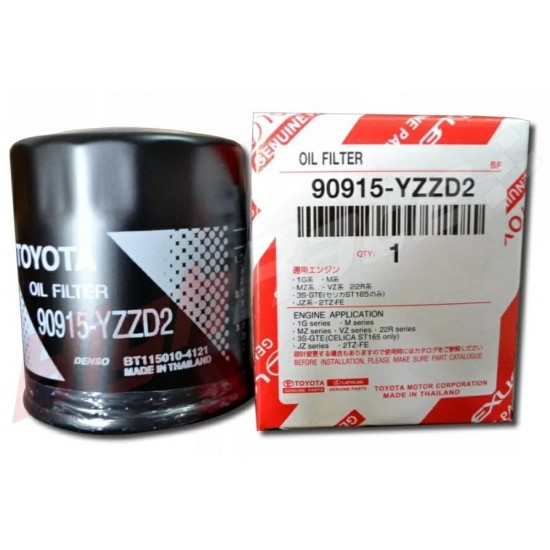 Genuine Toyota Oil Filter Crown & Hilux 90915-YZZD2